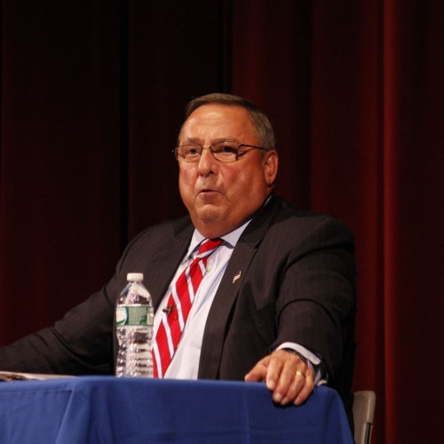 Only four Republican legislators support considering sanctions against LePage