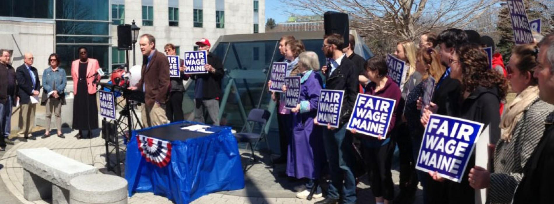 These Maine Representatives stood up for raising the minimum wage