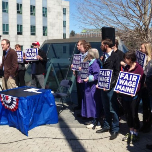 These Maine Representatives stood up for raising the minimum wage