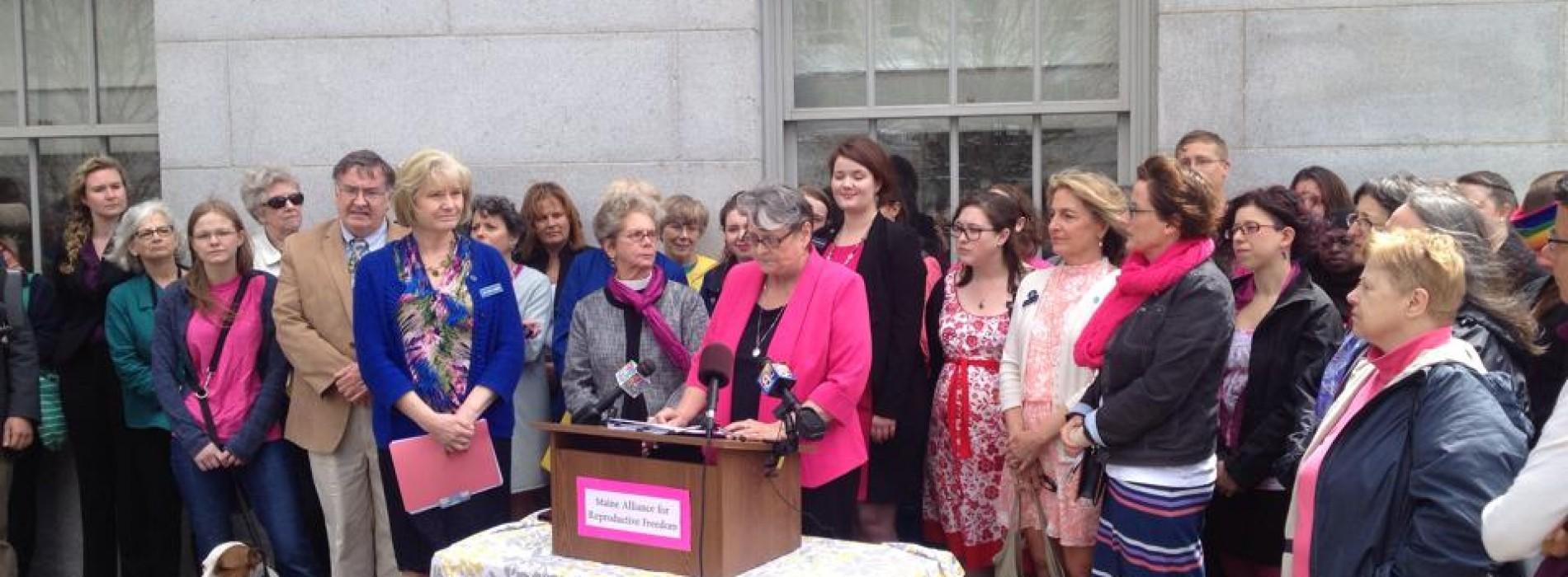 Will Maine legislators stand with Maine women?