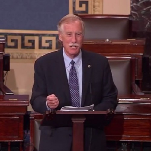 Sen. King calls out Republicans for playing politics on Iran deal