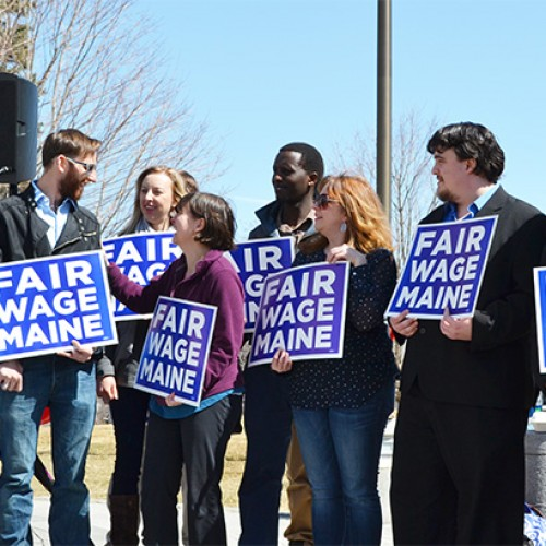 Grassroots fundraising surge boosts initiative to raise Maine's minimum wage