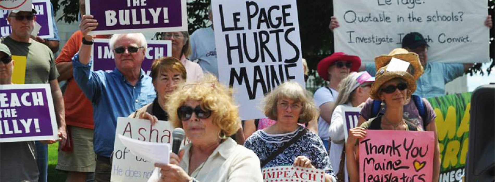 July 3, 2015 – Will Gov. LePage be impeached?