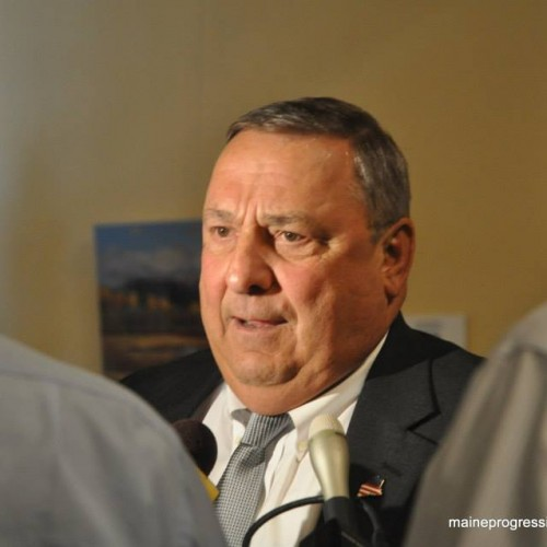 Stunning video: Gov. LePage bars legislators from public meeting