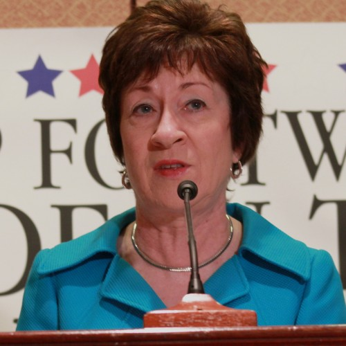 Looking Sen. Collins' gift horse in the mouth and a conversation on race