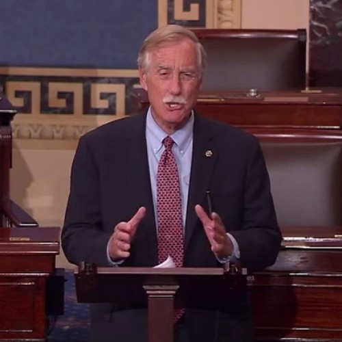 Sen. King stands with Planned Parenthood in speech from Senate floor