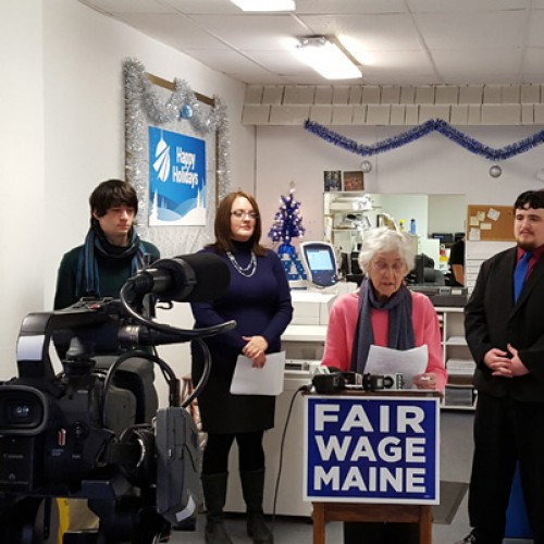 Report shows living wage jobs hard to come by in Maine