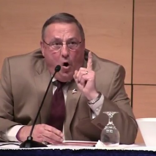 Gov. LePage is melting down