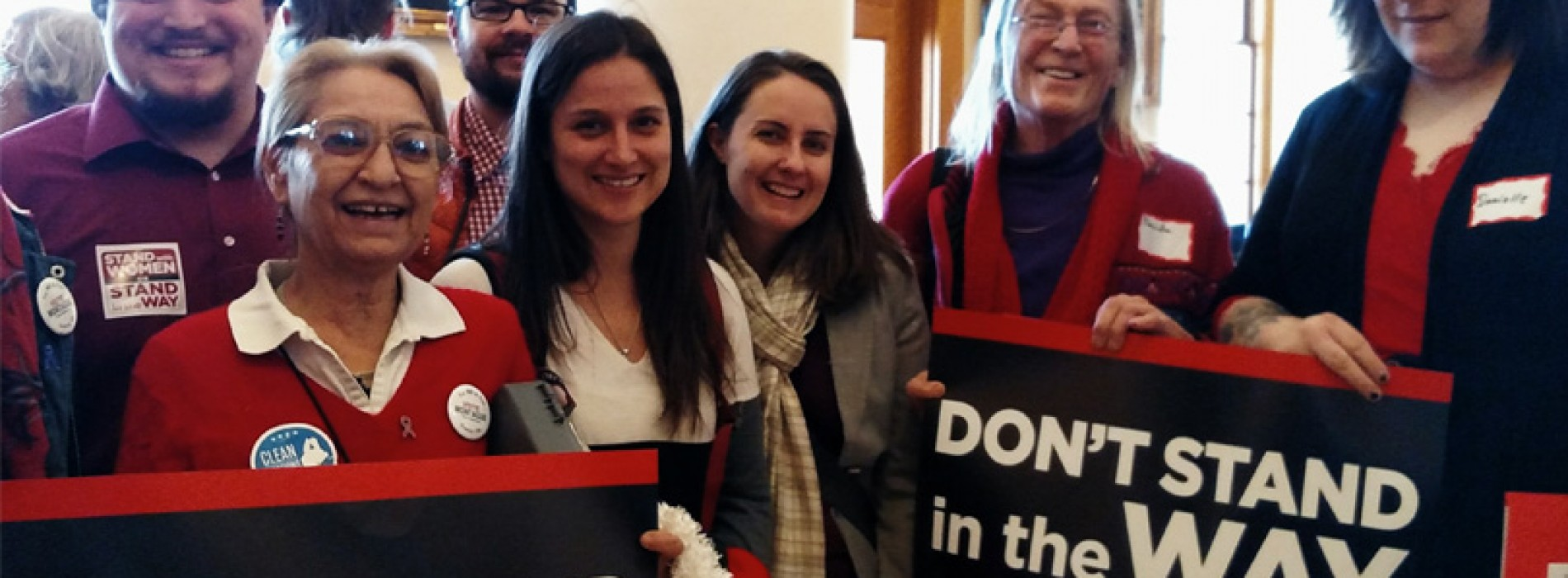 Maine women lobby for economic fairness, reproductive freedom