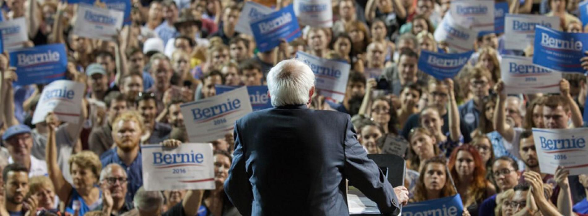Bernie Sanders loves us, and so we love him