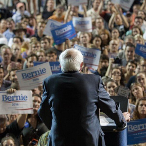 Bernie Sanders loves us, and so we love him