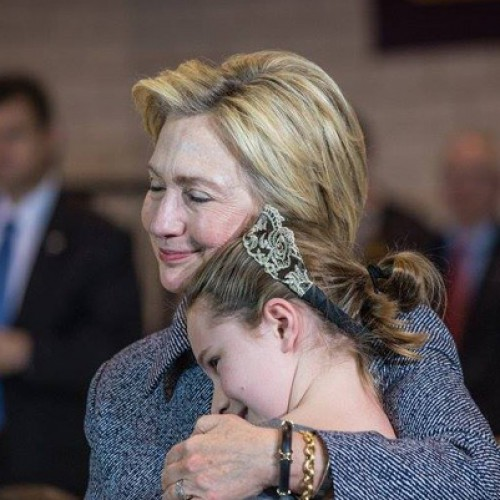 I've been with Hillary since I was a little girl