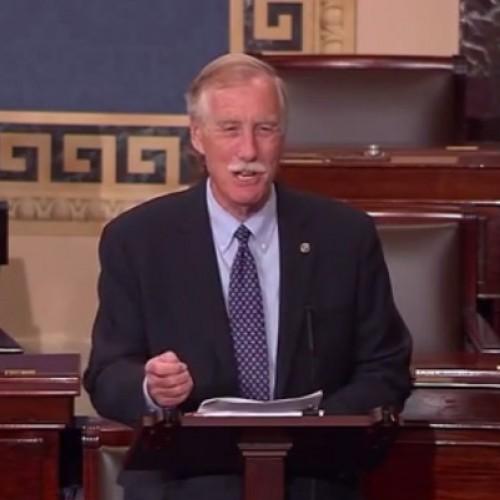 Sen. King blasts Republicans for Supreme Court threats