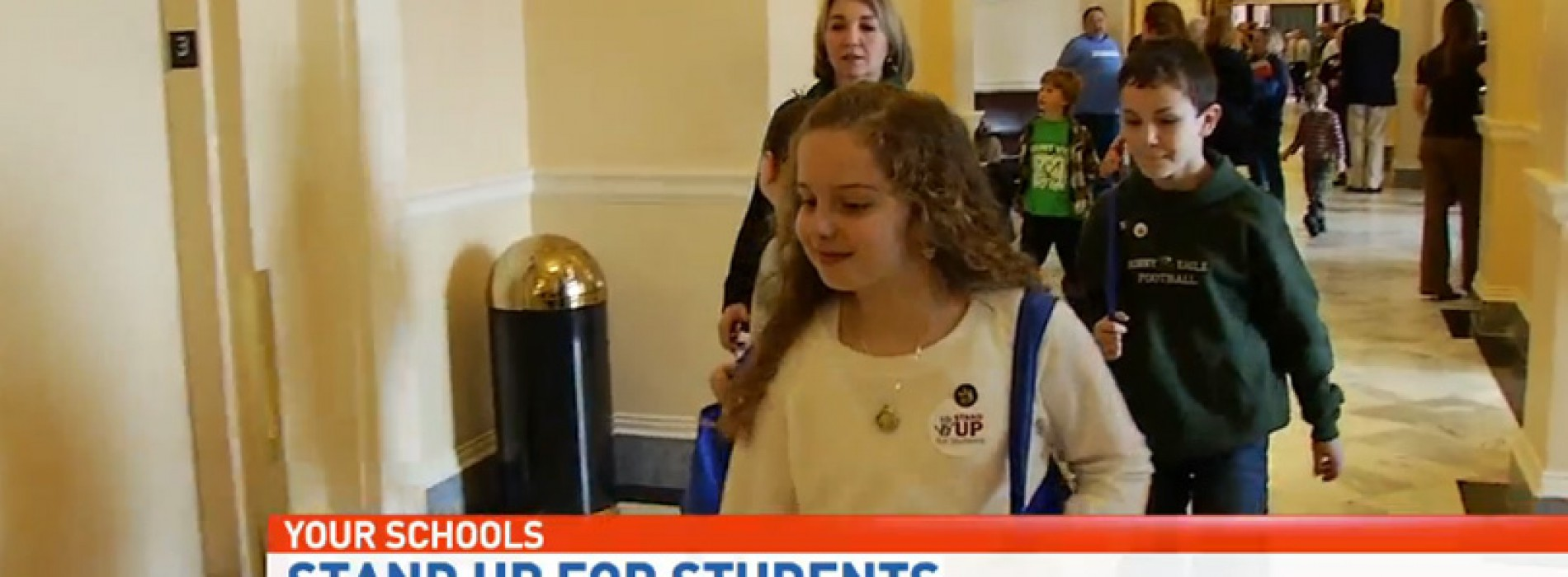 Maine kids and teachers lobby legislators on school funding gap