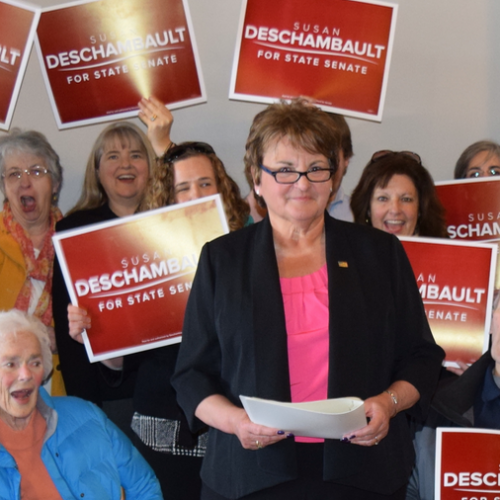 Susan Deschambault wins Maine Senate special election with progressive economic message