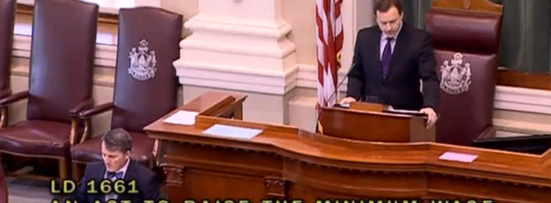 Maine House votes to advance minimum wage referendum