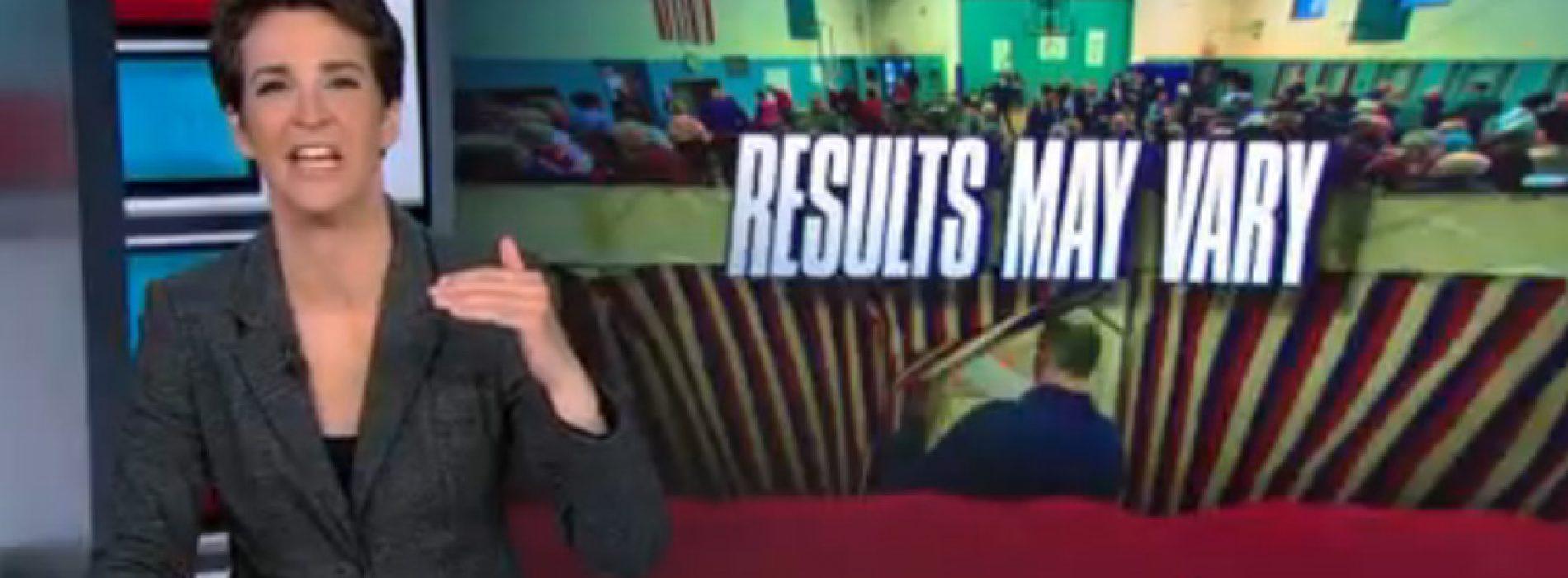 Rachel Maddow blasts Gov. LePage for veto denying life-saving drug