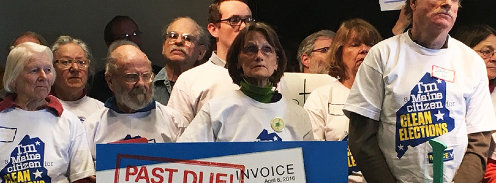 Maine Senate Republicans defy Clean Elections referendum, protect offshore tax havens