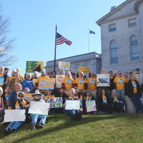 "Maine solar advocates plan ""last stand"" Friday at the State House"