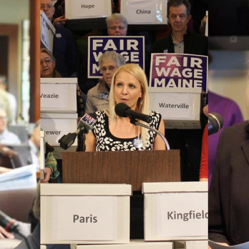 Three Maine minimum wage champions face primaries Tuesday