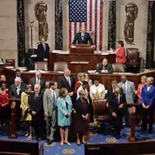 Rep. Pingree, colleagues occupying House floor to force vote on gun bills