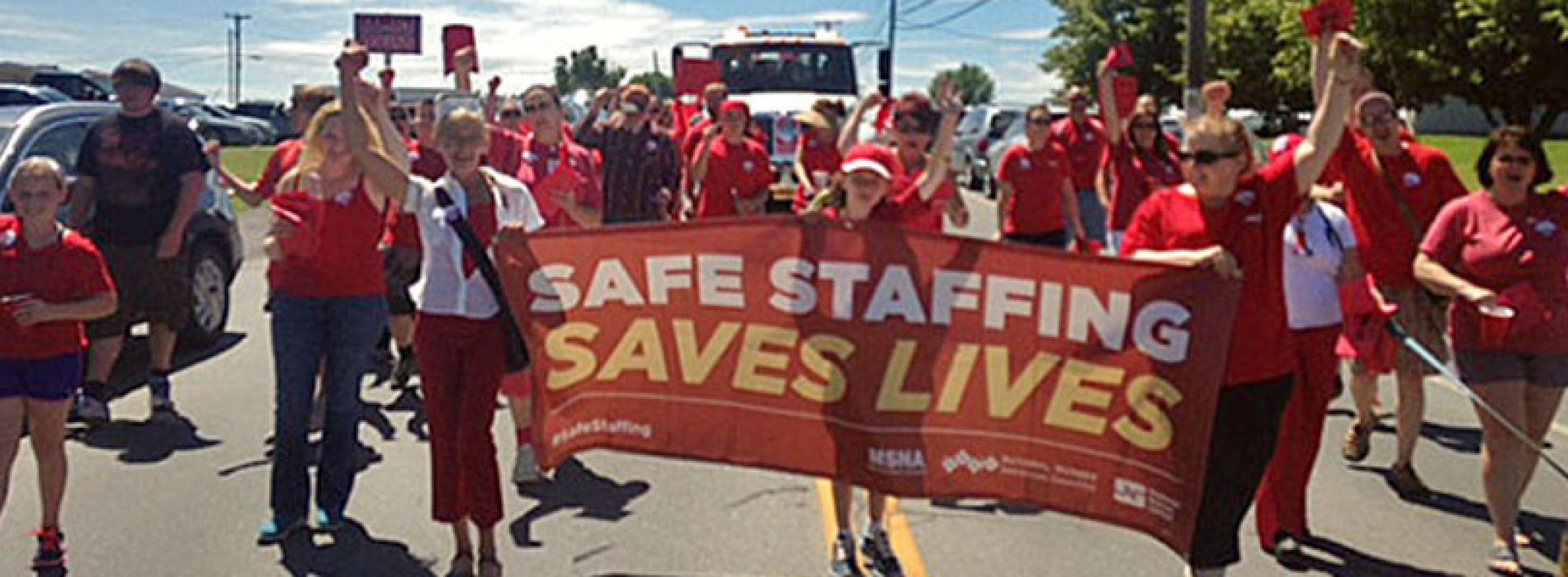 Nurses strike in Presque Isle over wages, safe staffing levels