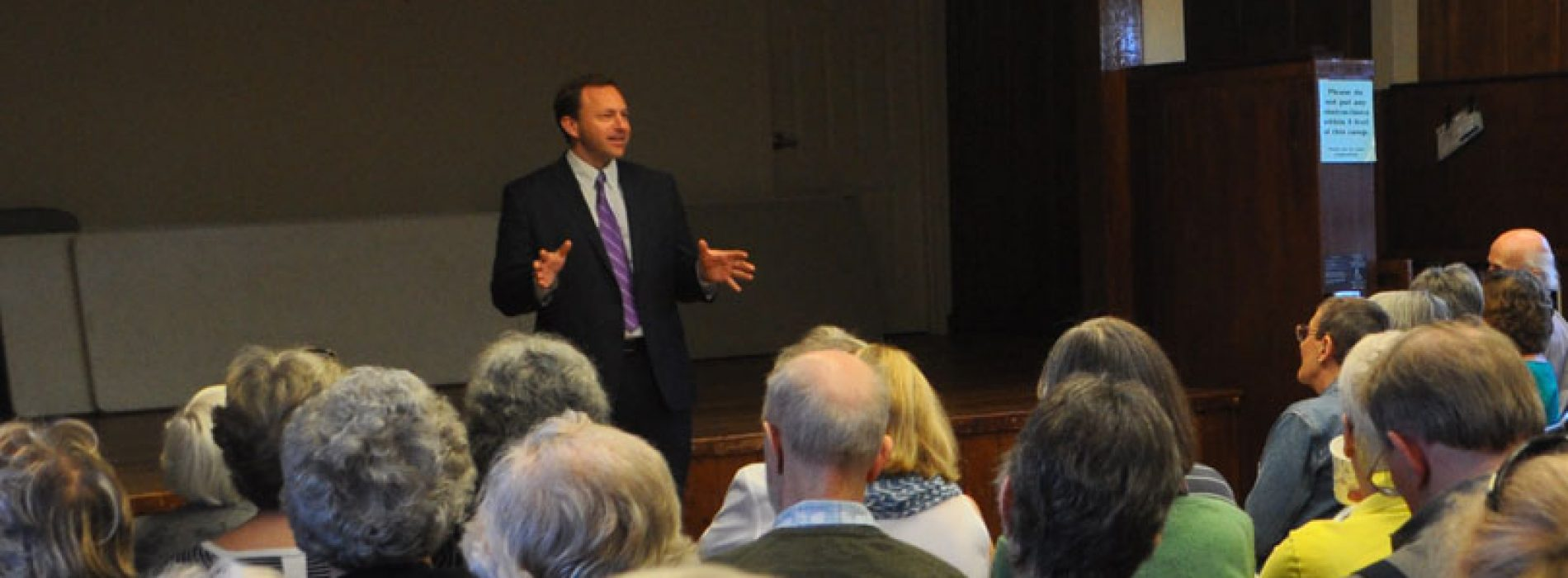 Looking back with Speaker Mark Eves, Part One