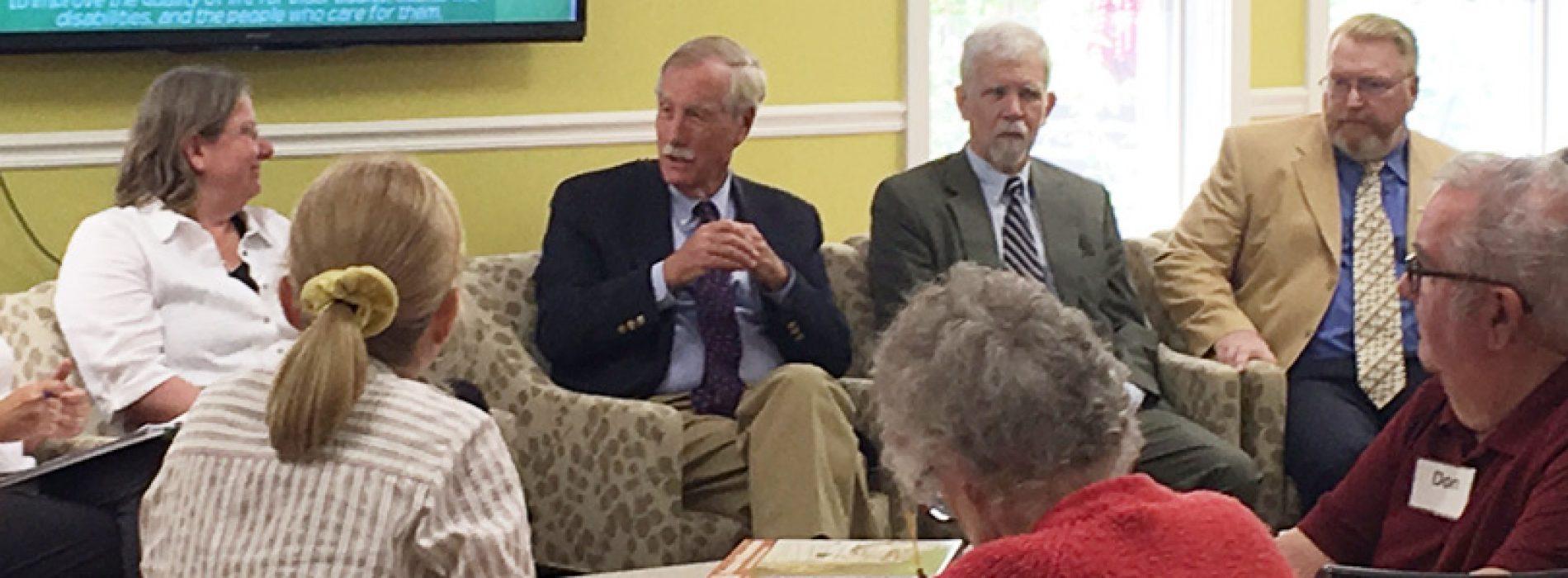 Sen. King backs tax credit for family caregivers
