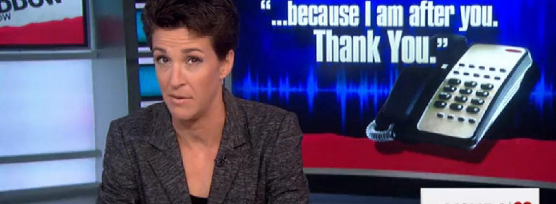 Rachel Maddow: Maine faces a 'political crisis'
