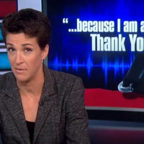 Rachel Maddow: Maine faces a 'political crisis'