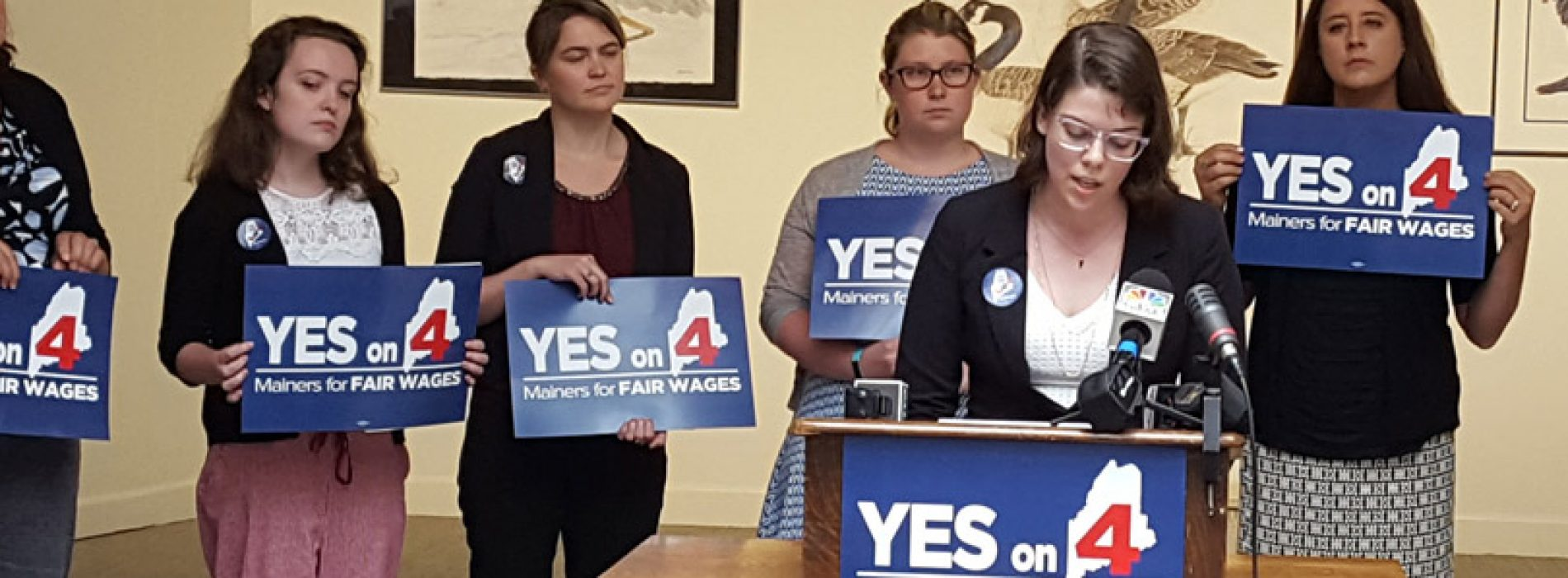 Women lead in fight to protect Maine's minimum wage increase