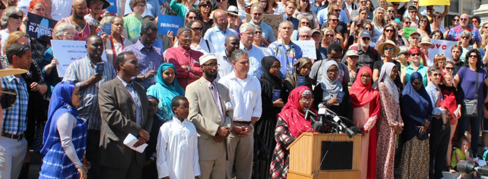 Hundreds stand with Mainers from Somalia, but some prominent Republicans refuse