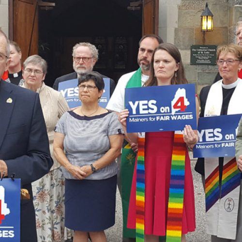 Maine faith leaders back minimum wage referendum