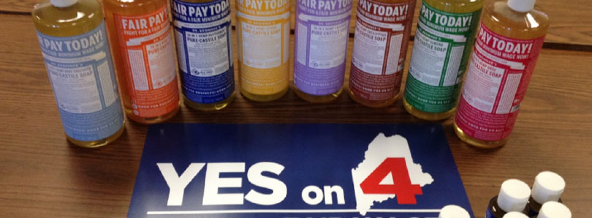 Dr. Bronner's soap changes label to support Maine minimum wage referendum