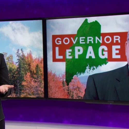 Samantha Bee: Gov. LePage should serve as a warning to America