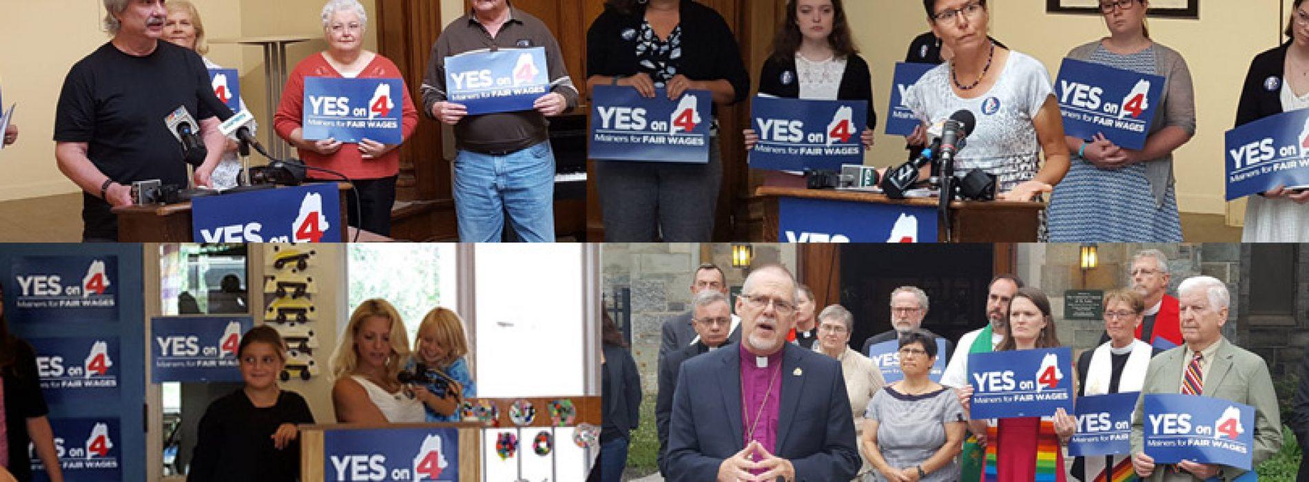 Minimum wage campaign announces more than 90 endorsements