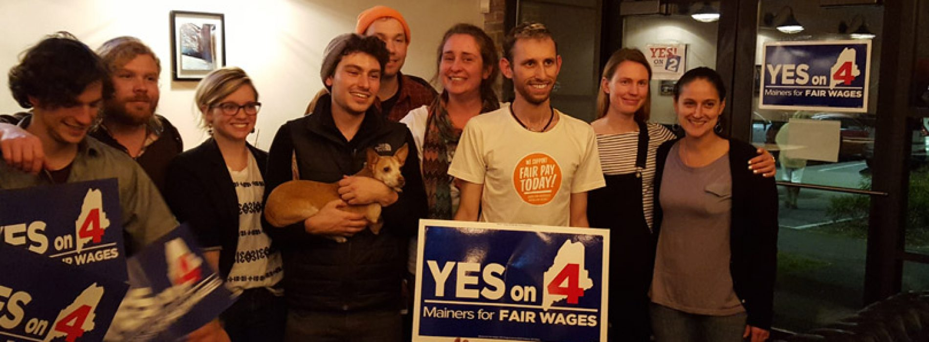 Maine minimum wage victory a bright spot for progressives in a dark election