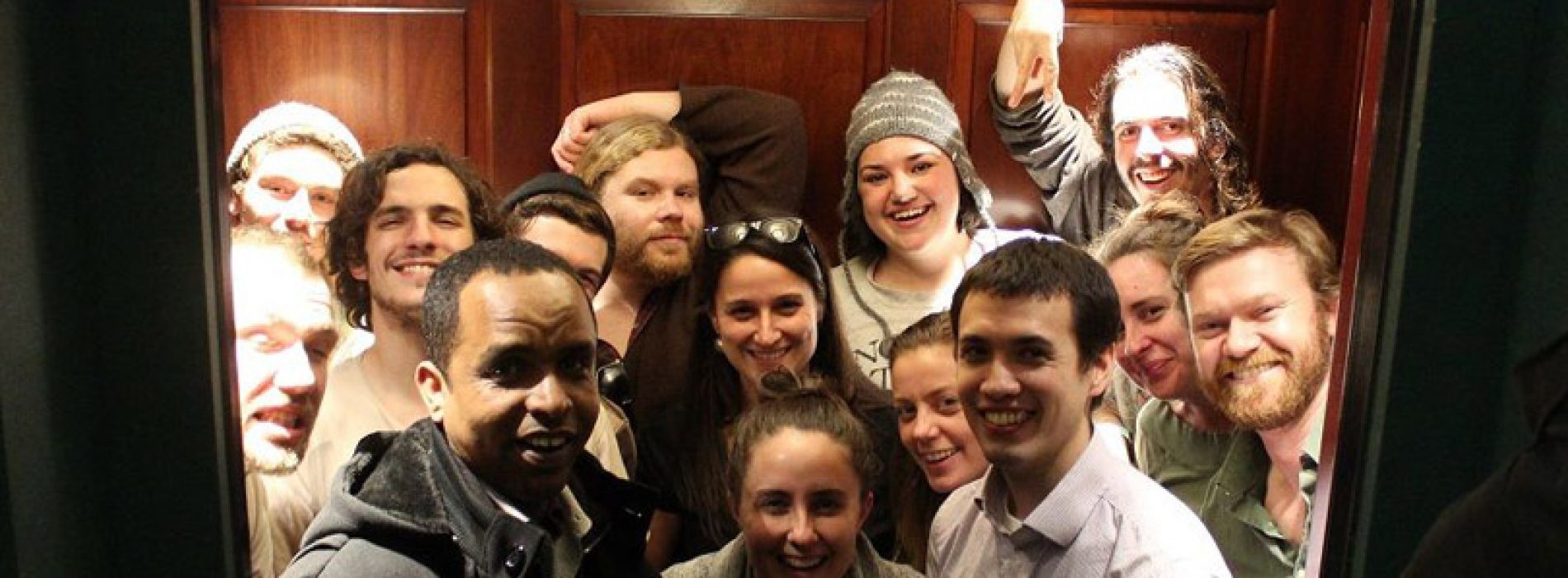 Stuck in an elevator to save Obamacare