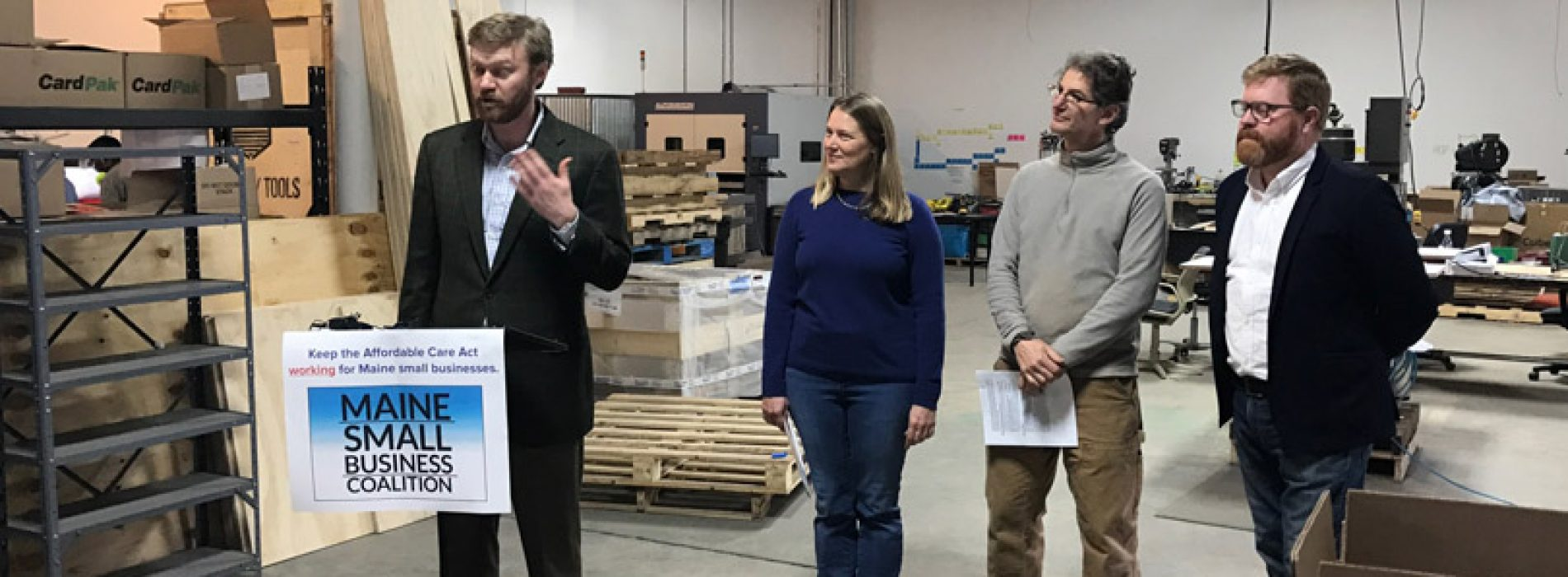 Maine small business owners ask Sen. Collins not to repeal health coverage