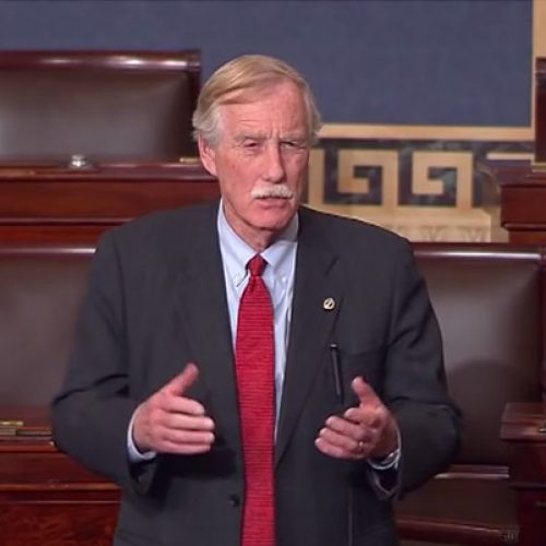 Sen. King gets personal in attempt to save Affordable Care Act
