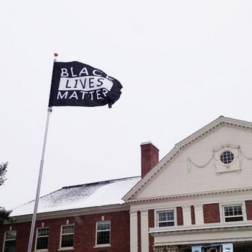 Why it matters that a Black Lives Matter flag flies over UMaine
