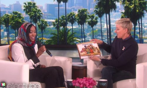 Maine teacher and Sudanese refugee has an amazing, emotional moment on Ellen
