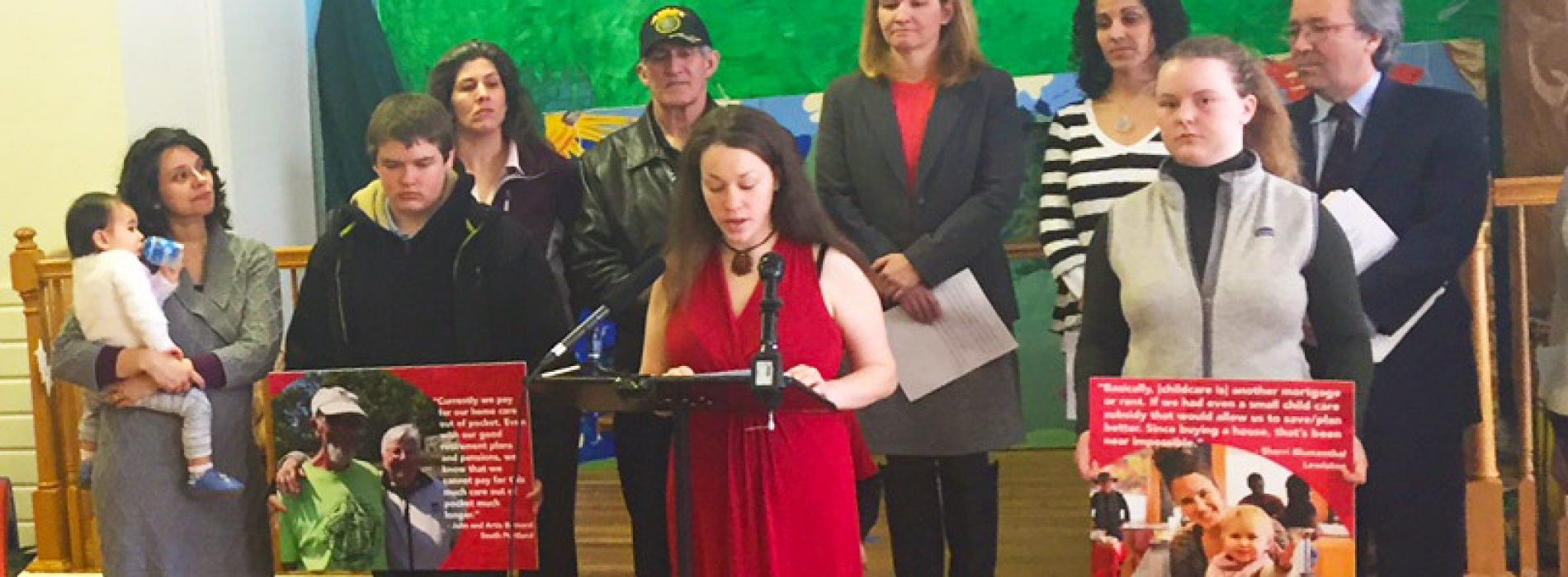 Mainers launch campaign for guaranteed child care for kids and home care for seniors