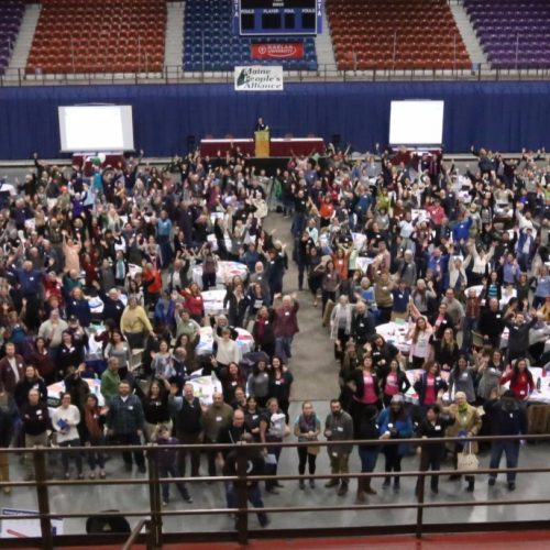 Hundreds gather to plan Maine's Resistance