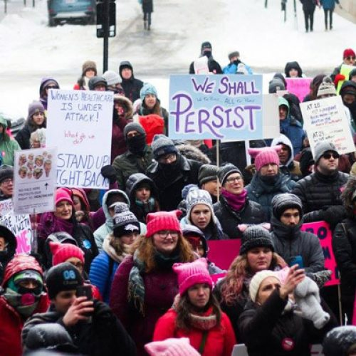 Mainers to rally for Planned Parenthood today in Portland and Lewiston