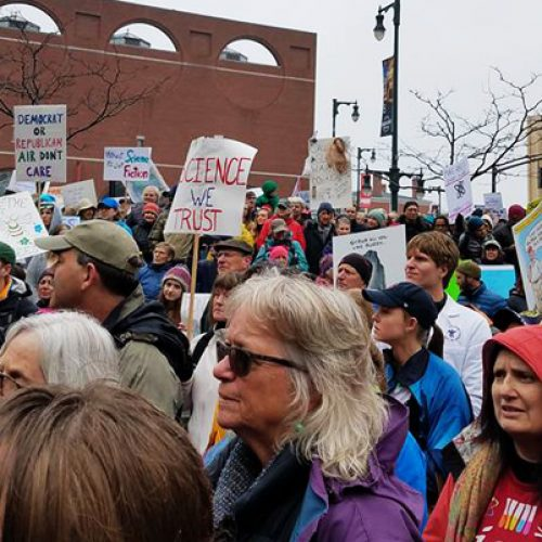 Mainers march for science, because facts don't always speak for themselves