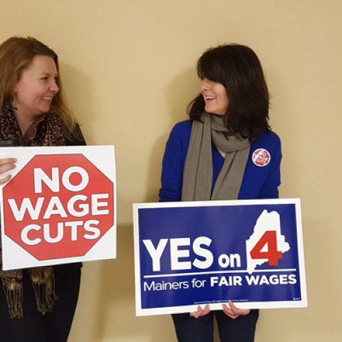 Maine restaurant servers fight to protect minimum wage increase