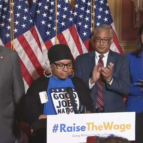 Democrats back $15 federal minimum wage, phasing out sub-minimum wage for tipped workers