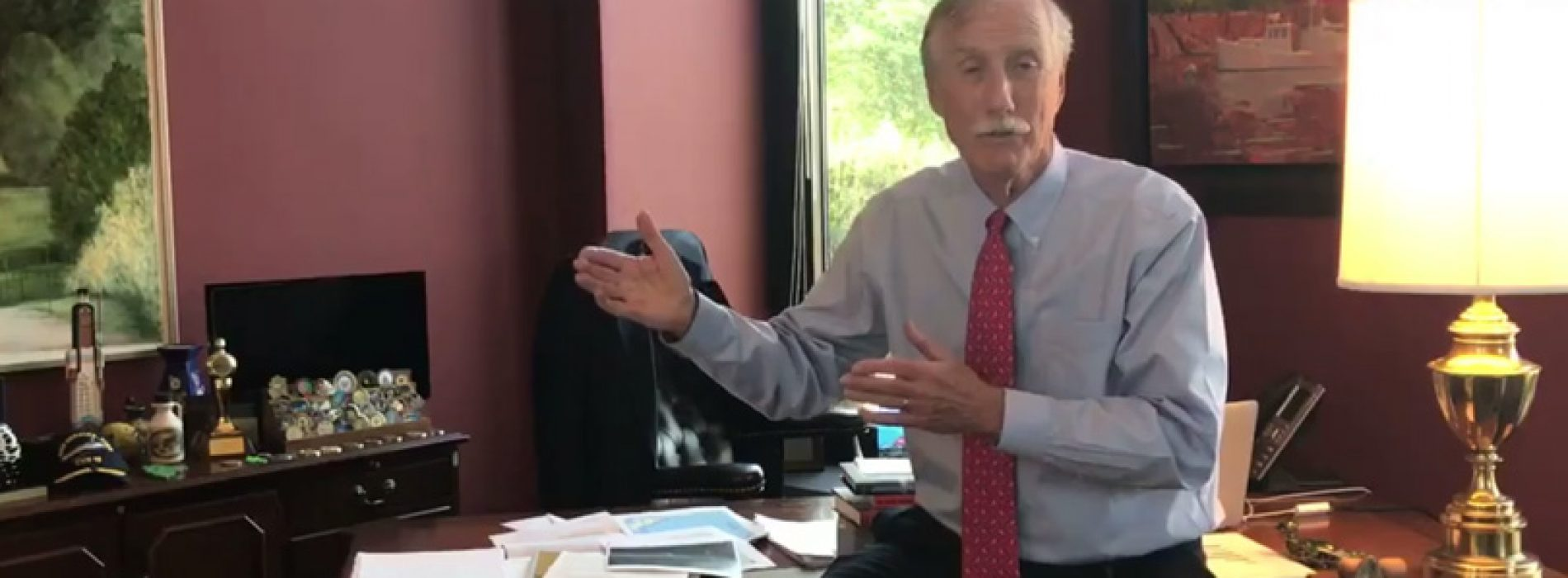 Sen. King blasts health care repeal bill while Rep. Poliquin continues to hide