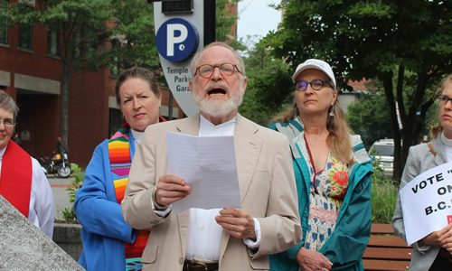 Maine religious leaders urge Sen. Collins to take a stand against health care repeal